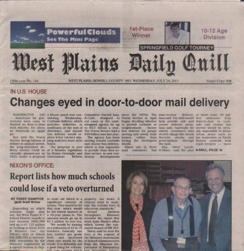 Media Scan for West Plains Daily Quill