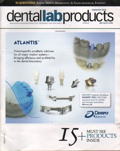 Media Scan for Dental Lab Products