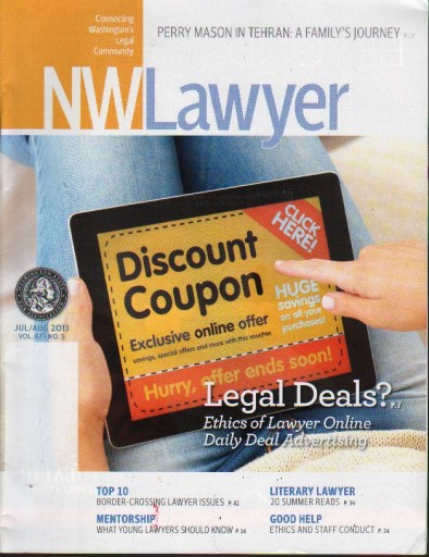 Media Scan for NW Lawyer