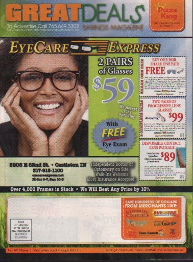 Media Scan for Great Deals Savings Magazine - IN