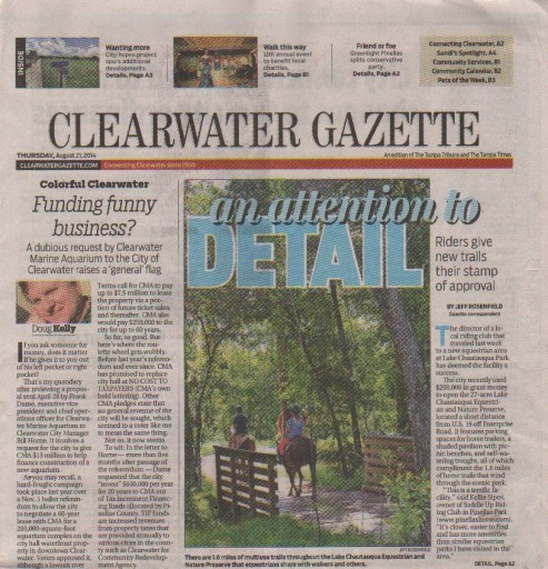 Media Scan for Tampa - Clearwater Gazette