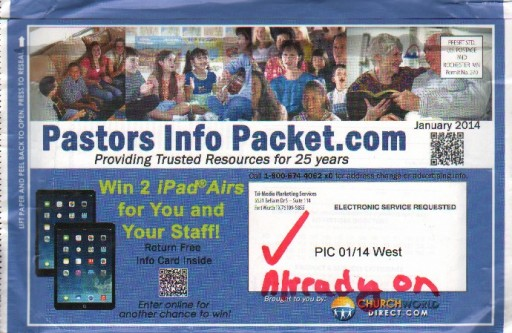 Media Scan for Pastors Info Packet