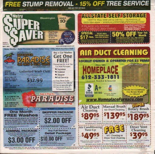 Media Scan for Metro Super Saver Minnesota