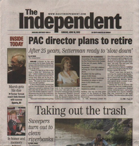 Media Scan for Ashland Daily Independent