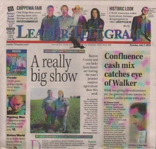 Media Scan for Eau Claire Leader - Telegram