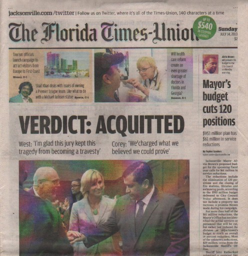 Media Scan for Jacksonville Florida Times Union