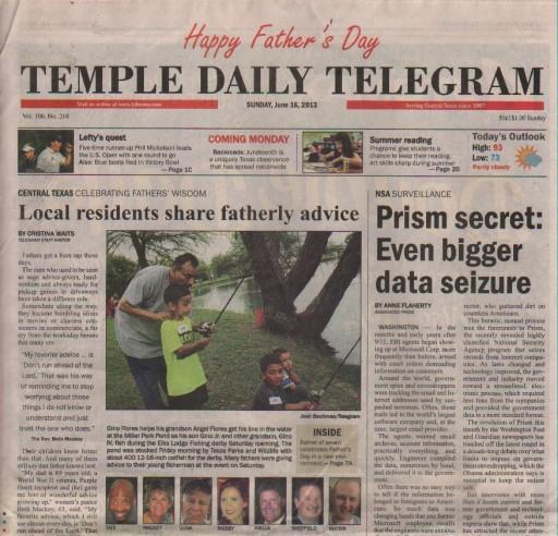 Media Scan for Temple Daily Telegram