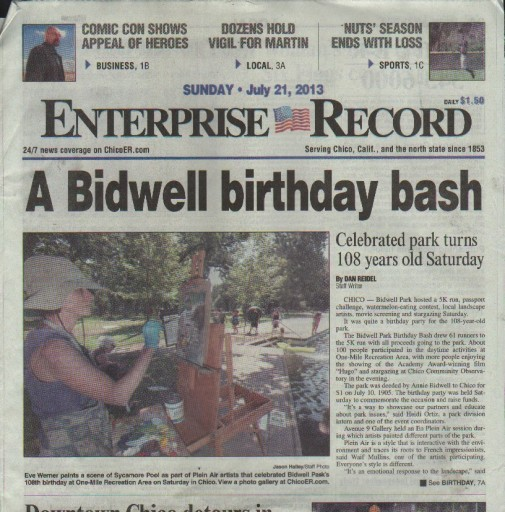 Media Scan for Chico Enterprise Record