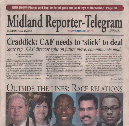 Media Scan for Midland Reporter-Telegram