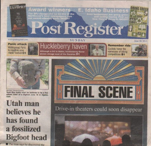Media Scan for Idaho Falls Post Register