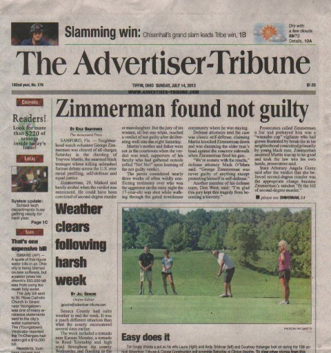 Media Scan for Tiffin Advertiser Tribune