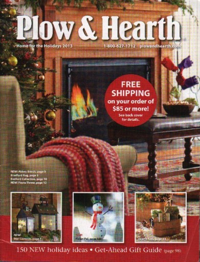 Media Scan for Plow & Hearth Package Insert Program