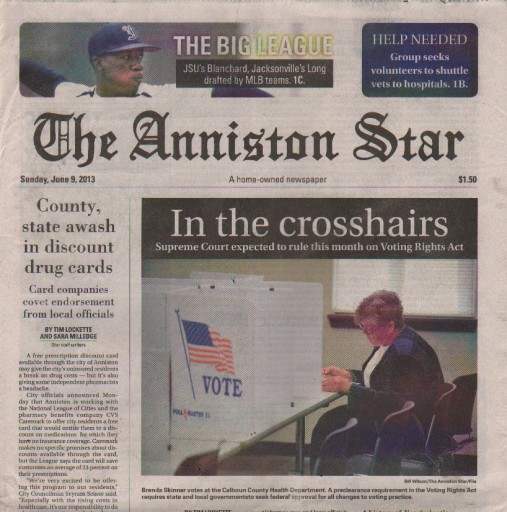 Media Scan for Anniston Star