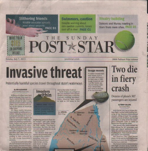 Media Scan for Glens Falls Post Star
