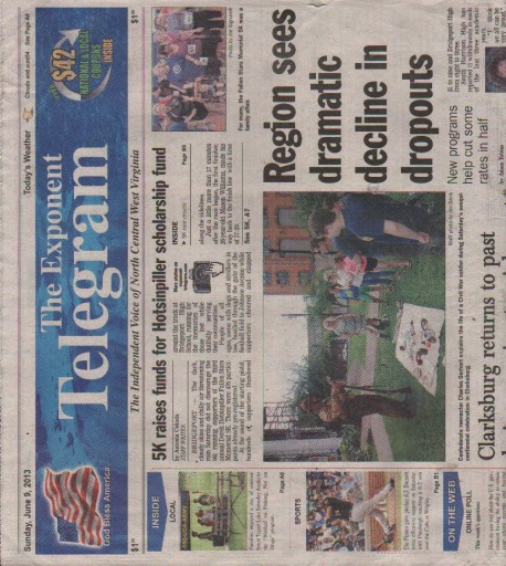 Media Scan for Clarksburg Exponent-Telegram