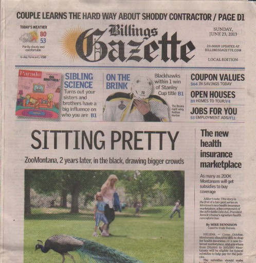 Media Scan for Billings Gazette