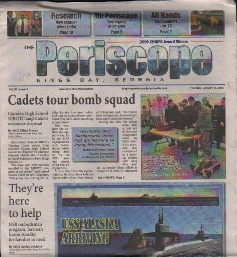 Media Scan for Kings Bay Periscope