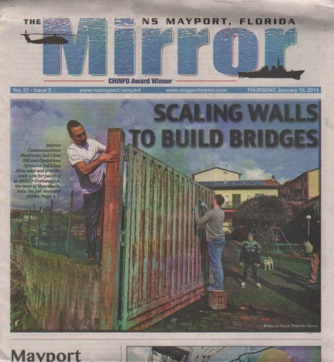 Media Scan for Mayport Mirror