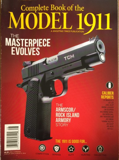 Media Scan for Complete Book of the Model 1911