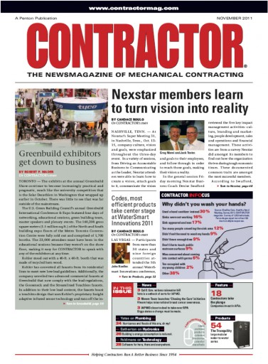 Media Scan for Contractor Magazine