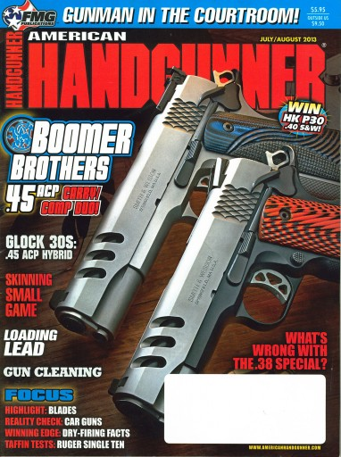Media Scan for American Handgunner Magazine