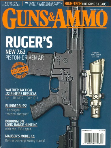 Media Scan for Guns & Ammo Magazine