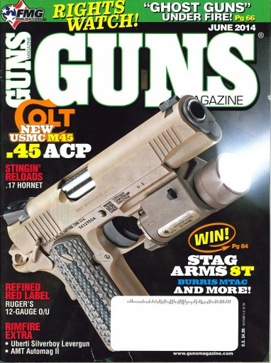 Media Scan for Guns Magazine