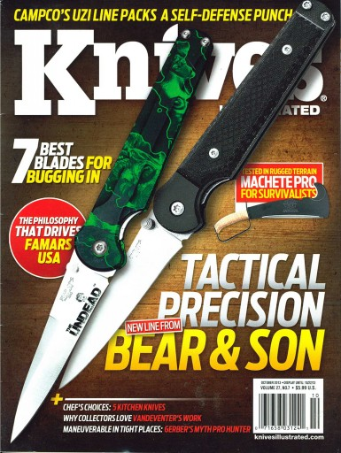 Media Scan for Knives Illustrated