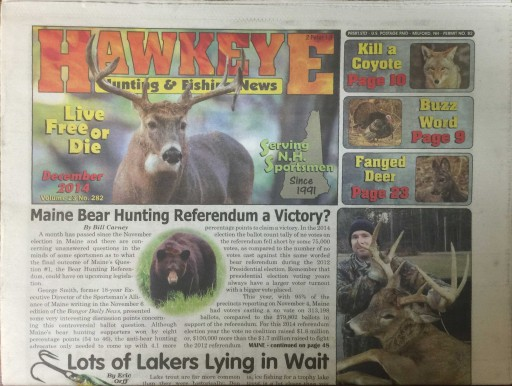 Media Scan for Hawkeye Hunting & Fishing News