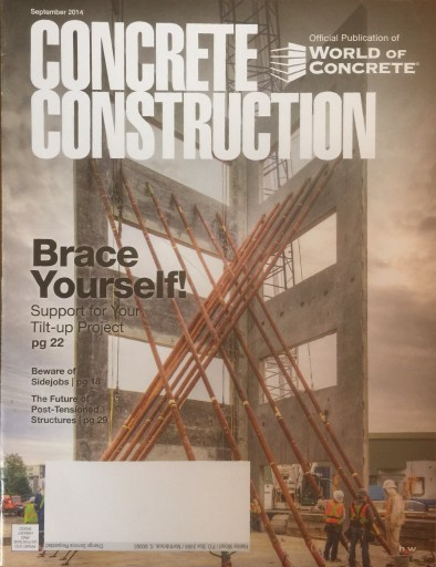 Media Scan for Concrete Construction Magazine