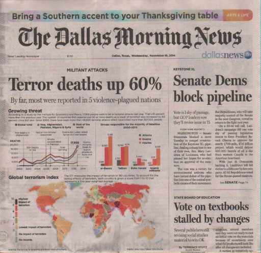 Media Scan for Dallas Morning News
