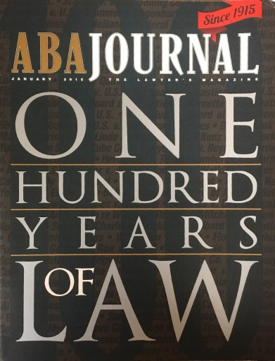 Media Scan for ABA (American Bar Association) Journal