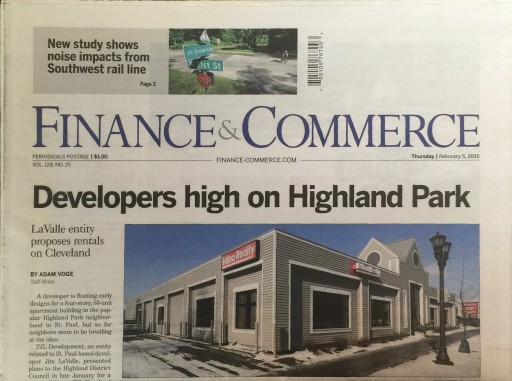 Media Scan for Finance & Commerce (Minnesota)