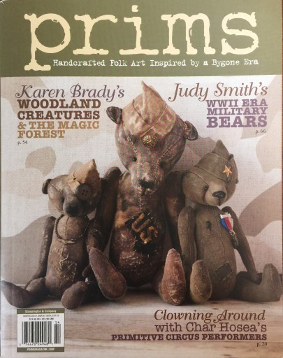 Media Scan for Prims: Art Inspired by a Bygone Era