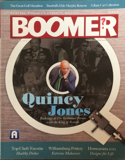 Media Scan for Richmond's Boomer Magazine