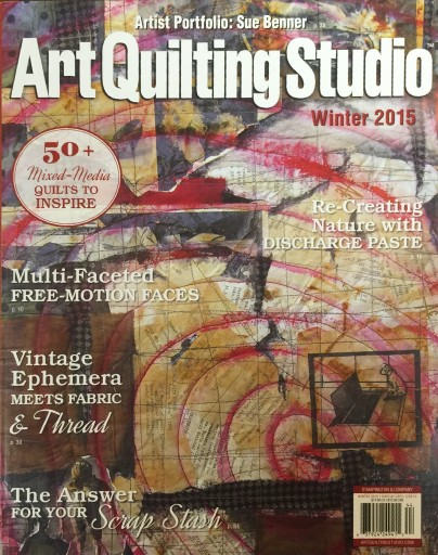 Media Scan for Art Quilting Studio