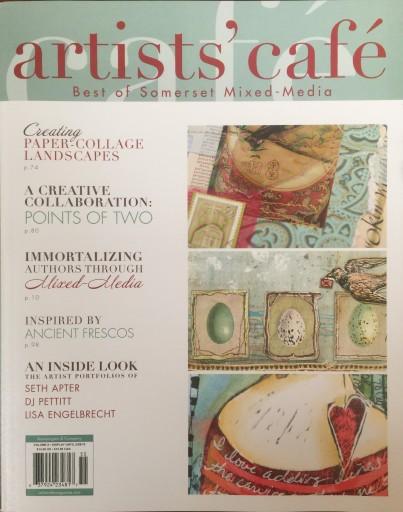 Media Scan for Artists' Cafe