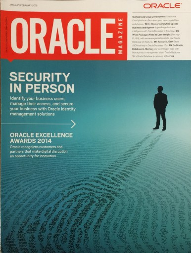 Media Scan for Oracle Magazine