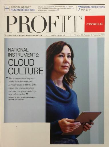 Media Scan for Profit Magazine