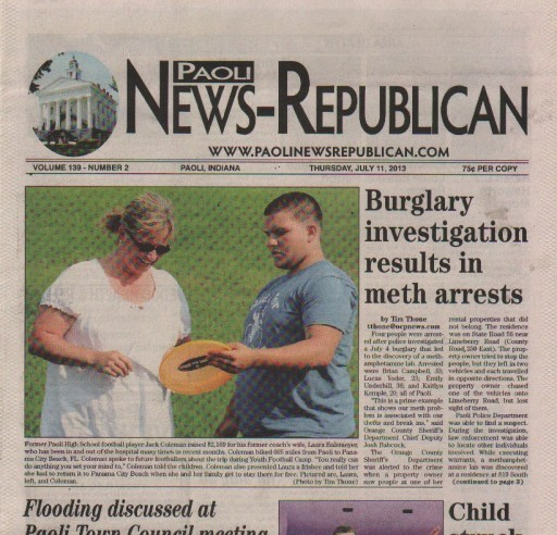 Media Scan for Paoli News-Republican