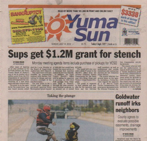 Media Scan for Yuma Daily Sun