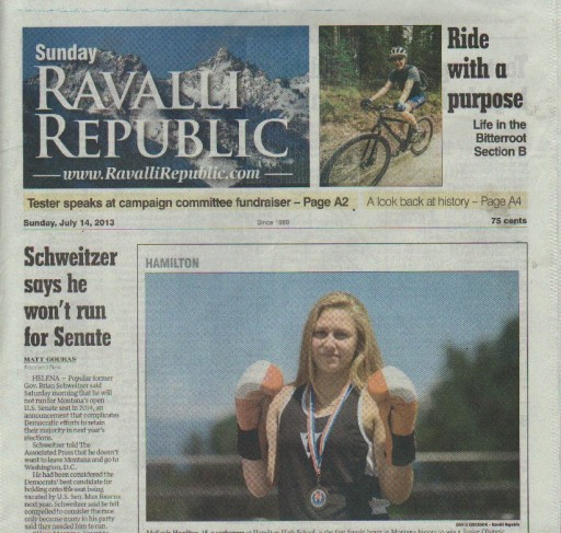 Media Scan for Hamilton Ravalli Republic
