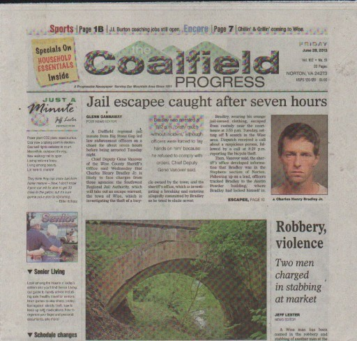 Media Scan for Coalfield Progress