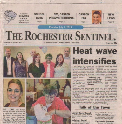 Media Scan for Rochester Sentinel