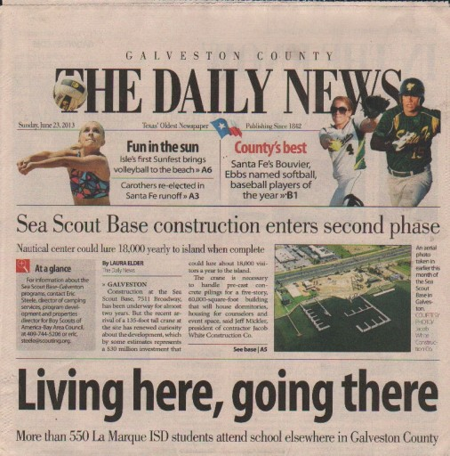 Media Scan for Galveston County Daily News