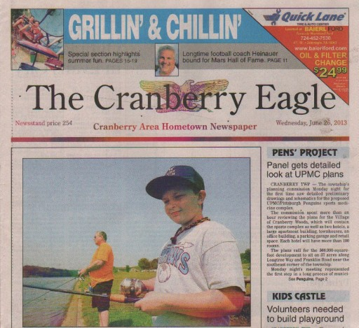 Media Scan for Cranberry Eagle