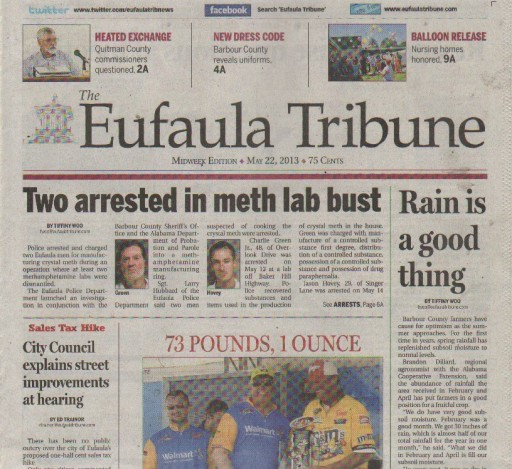 Media Scan for Eufaula Tribune