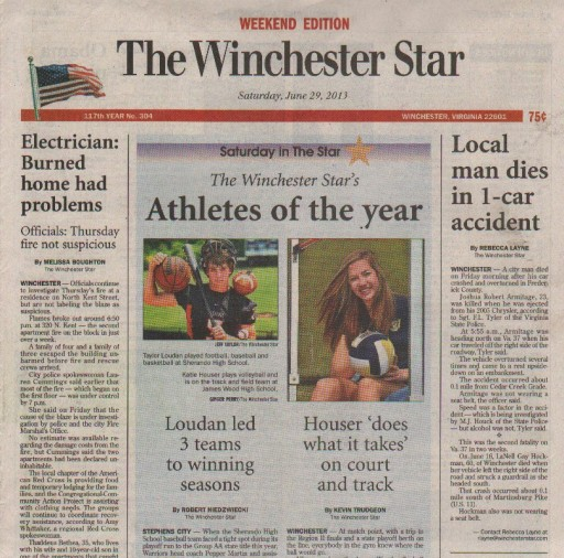 Media Scan for Winchester Star (DC)