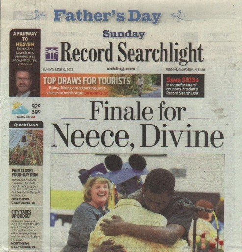 Media Scan for Redding Record Searchlight