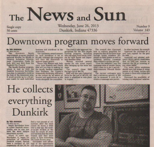 Media Scan for Dunkirk News and Sun